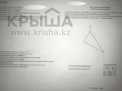 Участок 40 га, Кызылординская обл. за 40 млн 〒