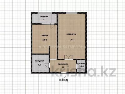 1-комнатная квартира, 40 м², 6/12 этаж, проспект Кабанбай Батыра 40 за 13.9 млн 〒 в Нур-Султане (Астана), Есиль р-н — фото 2