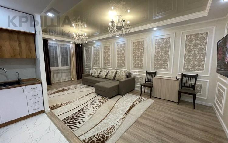 1-комнатная квартира, 50 м², 5/9 этаж посуточно, Коктем 18 за 12 000 〒 в Талдыкоргане