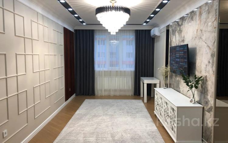 3-комнатная квартира, 85 м², 7/12 этаж, Сатпаева 90а — Туркебаева за 50 млн 〒 в Алматы, Бостандыкский р-н