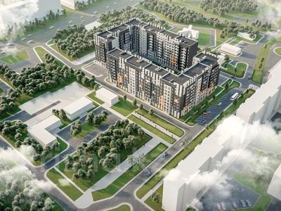 1-комнатная квартира, 35.56 м², Коргалжынское шоссе 17 за ~ 10 млн 〒 в Нур-Султане (Астана) — фото 4