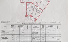 4-комнатная квартира, 140 м², 2/9 этаж, С 409 25 — Жамбыла за 60 млн 〒 в Нур-Султане (Астана), Сарыарка р-н