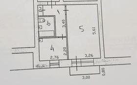 1-комнатная квартира, 33.6 м², 5/5 этаж, 5 мкр 5 за 3.6 млн 〒 в Риддере