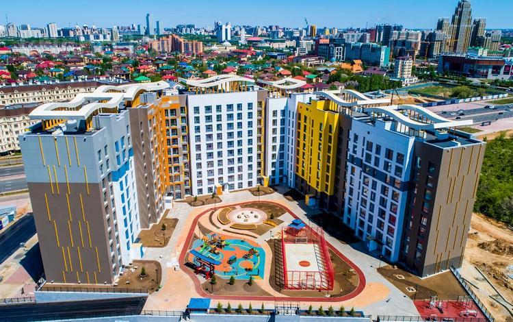 3-комнатная квартира, 110.47 м², 11/12 этаж, Каиыма Мухамедханова 4а за ~ 40.2 млн 〒 в Нур-Султане (Астана), Есиль р-н