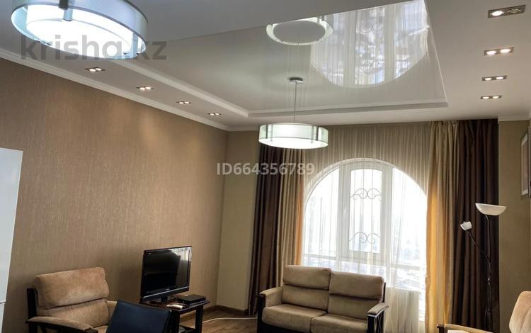 2-комнатная квартира, 60 м², 15/18 этаж помесячно, Навои 208 — Торайгырова за 250 000 〒 в Алматы, Бостандыкский р-н