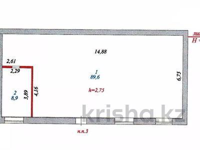 Помещение площадью 98.5 м², Шаймердена Косшыгулулы 20/2 — Бейсековой за 18.3 млн 〒 в Нур-Султане (Астана), Сарыарка р-н