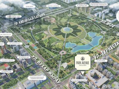 3-комнатная квартира, 100.62 м², Туркестан 20 за ~ 41 млн 〒 в Нур-Султане (Астана), Есиль р-н — фото 9
