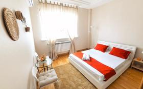 4-комнатная квартира, 100 м², 24/25 этаж посуточно, Каблукова 38а за 25 000 〒 в Алматы, Бостандыкский р-н