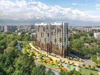 1-комнатная квартира, 49 м², 7/17 этаж, Макатаева 2 — Барибаева за 36.4 млн 〒 в Алматы, Медеуский р-н