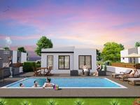 3-комнатный дом, 86 м², Мутлуяка за 46.2 млн 〒 в Фамагусте