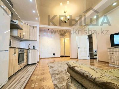 2-комнатная квартира, 80 м², 12/21 этаж посуточно, Гагарина 133/2 — Сатпаева за 15 000 〒 в Алматы
