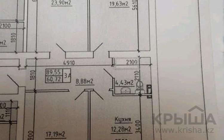 3-комнатная квартира, 90 м², 1/5 этаж, 34-й мкр за ~ 9 млн 〒 в Актау, 34-й мкр
