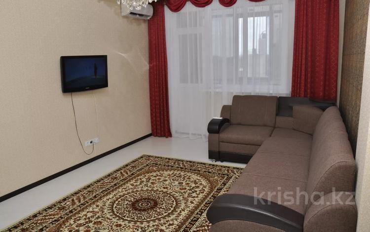 1-комнатная квартира, 40 м², 4/9 этаж посуточно, Туран 38 за 7 500 〒 в Нур-Султане (Астана), Есиль р-н