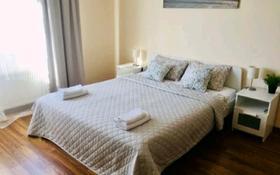 1-комнатная квартира, 46 м², 2 этаж посуточно, Тлендиева за 14 000 〒 в Алматы