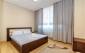 1-комнатная квартира, 50 м², 14 этаж посуточно, Сарайшык 7/1 7/1 — Акмешит за 9 000 〒 в Нур-Султане (Астана), Есиль р-н