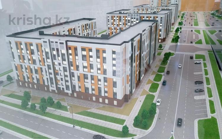 2-комнатная квартира, 52.89 м², 2/9 этаж, Кайым мухамедханова — Е305 за ~ 16.8 млн 〒 в Нур-Султане (Астана), Есиль р-н