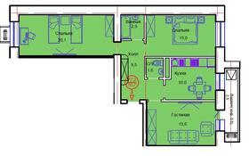 3-комнатная квартира, 77 м², 9/12 этаж, Тауелсиздик 34/8 за ~ 20.7 млн 〒 в Нур-Султане (Астана), Алматы р-н