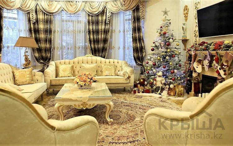5-комнатный дом помесячно, 500 м², 10 сот., Баян Сулу 7 за 5 млн 〒 в Нур-Султане (Астана), Есиль р-н
