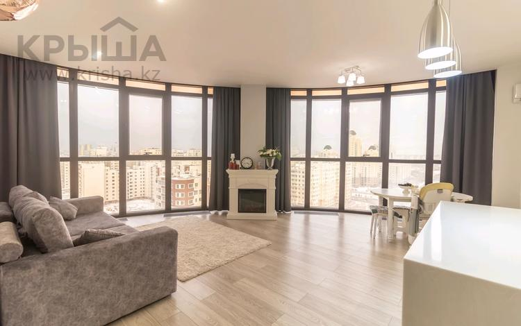 3-комнатная квартира, 107 м², 15/18 этаж, Керей и Жанибек хандар 22 за 47.5 млн 〒 в Нур-Султане (Астана)