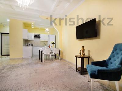 2-комнатная квартира, 60 м², 12/16 этаж посуточно, Ул. Навой 208/8 за 16 990 〒 в Алматы, Бостандыкский р-н