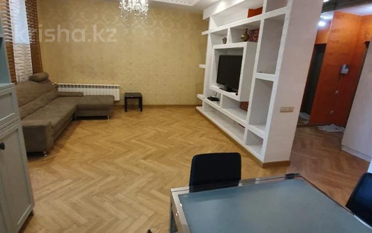 3-комнатная квартира, 120 м² помесячно, Достык 97 за 350 000 〒 в Алматы, Медеуский р-н