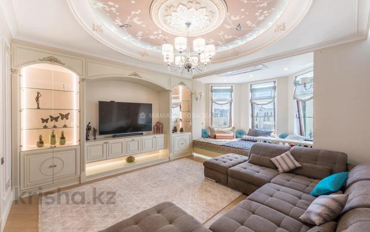 4-комнатная квартира, 180 м², 6/7 этаж, Тумар Ханым 16/1 за 255 млн 〒 в Нур-Султане (Астана), Есиль р-н
