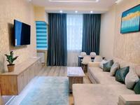 2-комнатная квартира, 81 м², 9/9 этаж посуточно, Батыс-2 1Г 3 корпус за 12 990 〒 в Актобе