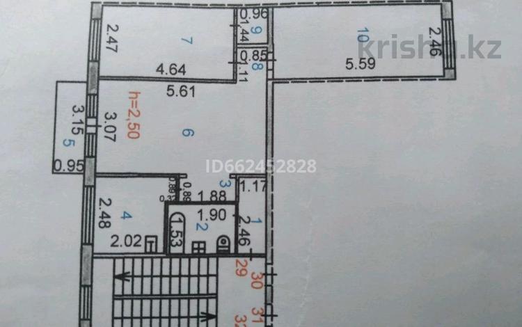 3-комнатная квартира, 59 м², 3/5 этаж, проспект Алашахана 19 за 10.5 млн 〒 в Жезказгане