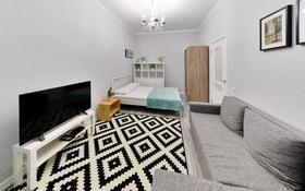 1-комнатная квартира, 40 м², 3/7 этаж посуточно, Кабанбай Батыра 58Б — Сауран за 11 000 〒 в Нур-Султане (Астана), Есиль р-н