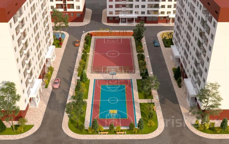 1-комнатная квартира, 44 м², 2/6 этаж, мкр Таусамалы, Акбата 15 за 13.2 млн 〒 в Алматы, Наурызбайский р-н