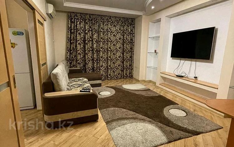 2-комнатная квартира, 75 м², 2/25 этаж посуточно, Каблукова 264 за 18 000 〒 в Алматы, Бостандыкский р-н