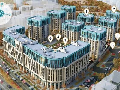 3-комнатная квартира, 128.6 м², 2/8 этаж, Шамши Калдаякова за ~ 48.9 млн 〒 в Нур-Султане (Астана), Алматы р-н — фото 7