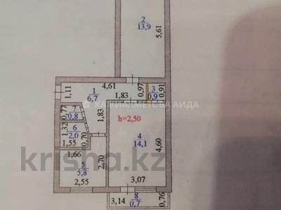 2-комнатная квартира, 45 м², 3/5 этаж, Переулок Жумабека Ташенова 10/1 за 14 млн 〒 в Нур-Султане (Астана) — фото 8