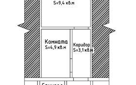 2-комнатная квартира, 24 м², 1/1 этаж, мкр Мамыр, Спортивная 7 за 6 млн 〒 в Алматы, Ауэзовский р-н