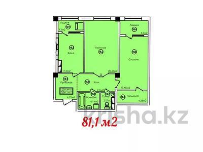 2-комнатная квартира, 81.1 м², 16-й мкр , 16 мкр за ~ 12.6 млн 〒 в Актау, 16-й мкр  — фото 2
