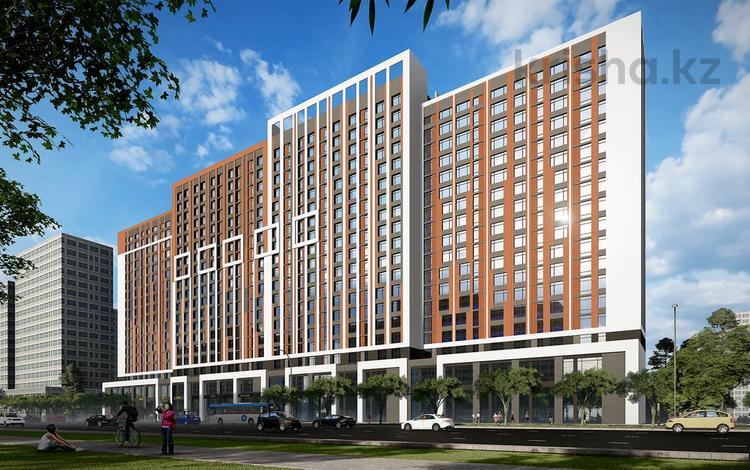 1-комнатная квартира, 36.85 м², Кабанбай батыра 51 за ~ 11.1 млн 〒 в Нур-Султане (Астана)