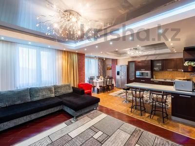 3-комнатная квартира, 130 м², 14/14 этаж посуточно, Хусаинова 225 — Ескараева за 25 000 〒 в Алматы, Бостандыкский р-н
