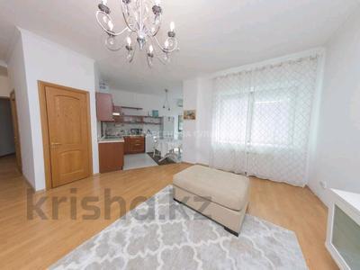 2-комнатная квартира, 80 м², 5/20 этаж помесячно, Кабанбай батыра 87 за 300 000 〒 в Алматы, Алмалинский р-н — фото 3