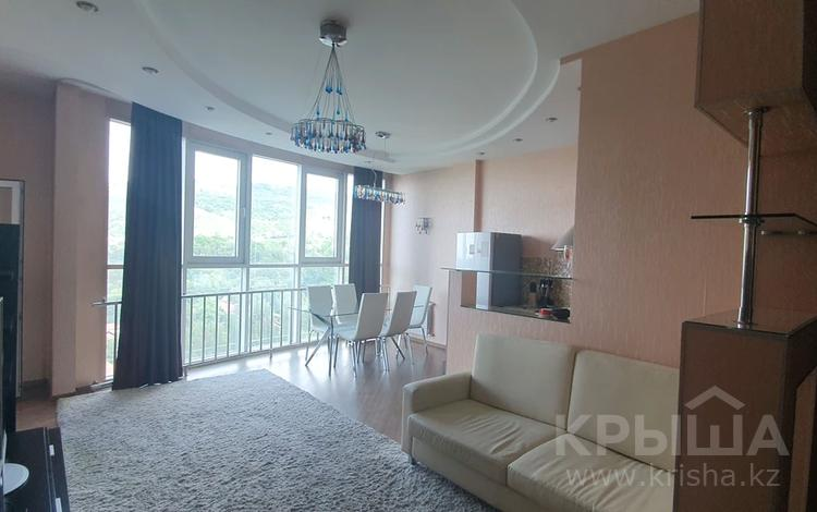 3-комнатная квартира, 95 м², 12/21 этаж помесячно, Достык 162 за 380 000 〒 в Алматы, Медеуский р-н
