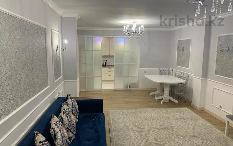 4-комнатная квартира, 130 м², 11/14 этаж, Хусаинова за 58 млн 〒 в Алматы, Бостандыкский р-н