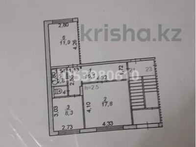 2-комнатная квартира, 52 м², 1/5 этаж, Орбита 1 24 за 12.5 млн 〒 в Караганде, Казыбек би р-н