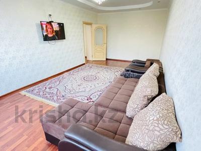 2-комнатная квартира, 80 м², 2/18 этаж посуточно, Брусиловского 159 — Кулымбетова за 11 000 〒 в Алматы, Алмалинский р-н