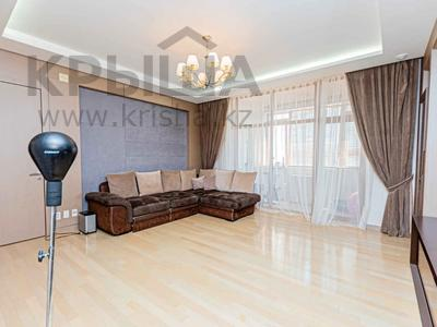 4-комнатная квартира, 127 м², 3/21 этаж, Ахмета Байтурсынова 1 за 62 млн 〒 в Нур-Султане (Астана), Алматы р-н