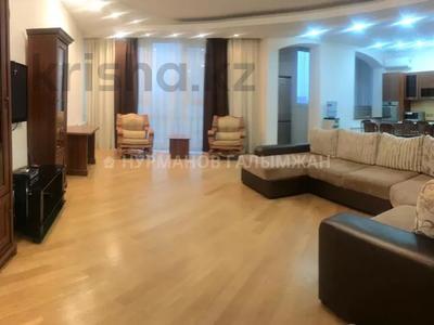 3-комнатная квартира, 150 м², 8/20 этаж помесячно, проспект Достык 162к4 за 450 000 〒 в Алматы, Медеуский р-н