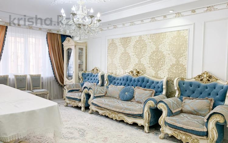4-комнатная квартира, 160 м², 2/16 этаж, мкр Шугыла, Жуалы за 54.3 млн 〒 в Алматы, Наурызбайский р-н