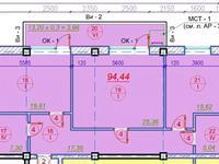 2-комнатная квартира, 94.44 м², 3/7 этаж, Болашак — Балапанова за 29 млн 〒 в Талдыкоргане