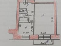 1-комнатная квартира, 33.2 м², 5/5 этаж