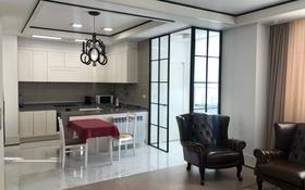 2-комнатная квартира, 75 м², 6/22 этаж помесячно, Нажимеденова 4 за 250 000 〒 в Нур-Султане (Астана), Есиль р-н