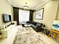 2-комнатная квартира, 76.7 м², 1/8 этаж, мкр Юбилейный, Омаровой 31 — проспект Достык за 49 млн 〒 в Алматы, Медеуский р-н