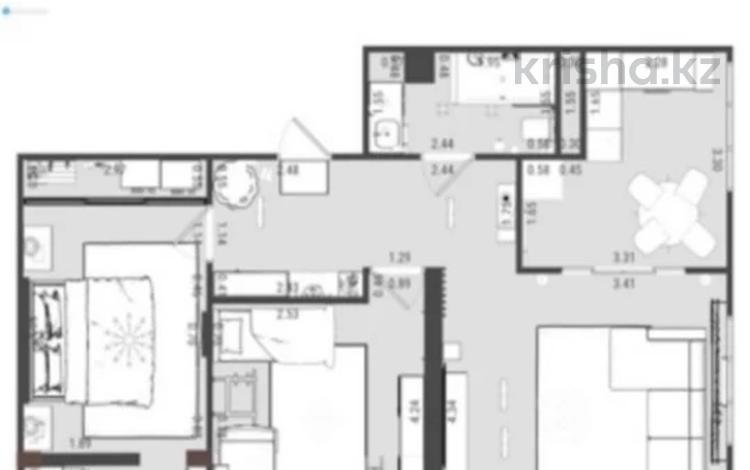 3-комнатная квартира, 78 м², 5/12 этаж, Варламова 1/3 за ~ 30 млн 〒 в Алматы, Алмалинский р-н
